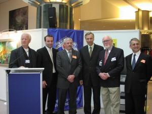 Dalis Erben im Europäischen Parlament in Brüssel