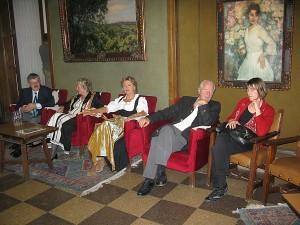 Dalis Erben Vernissage in der Königlichen Akademie