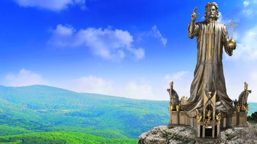 weltgrößte christus statue als symbol der christenheit
