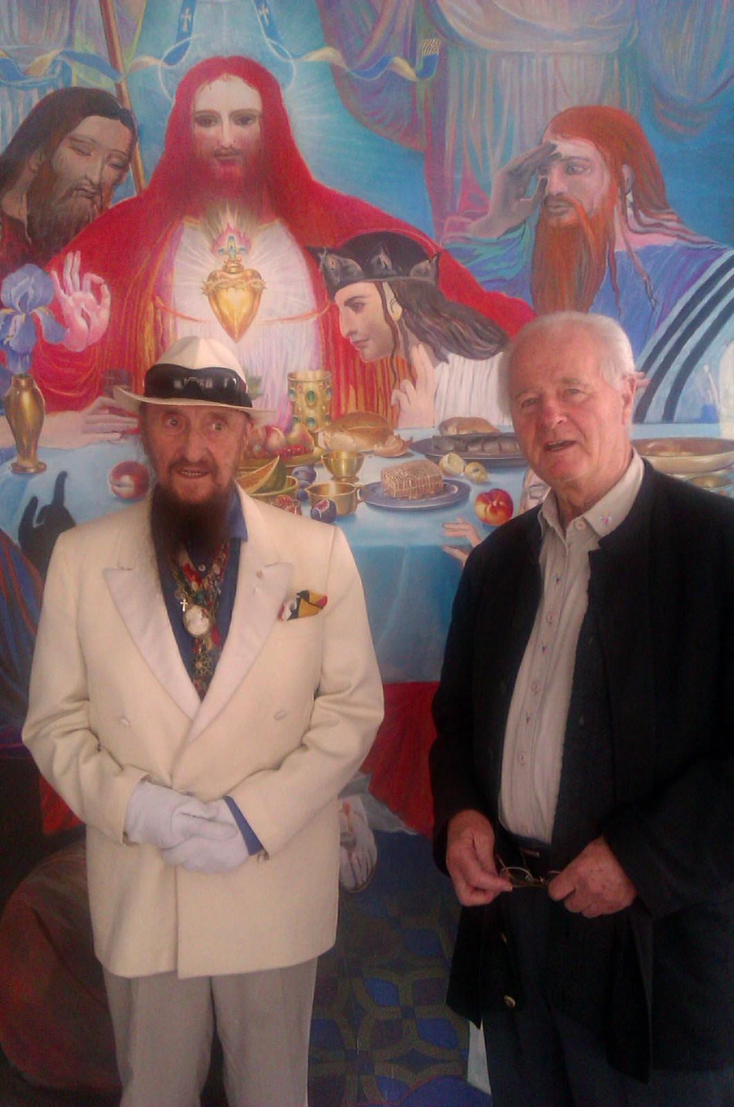 Angerer der Ältere und Ernst Fuchs im Phantastenmuseum Wien