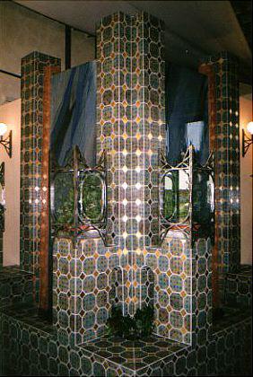 Arabischer Brunnen im Palmenhaus