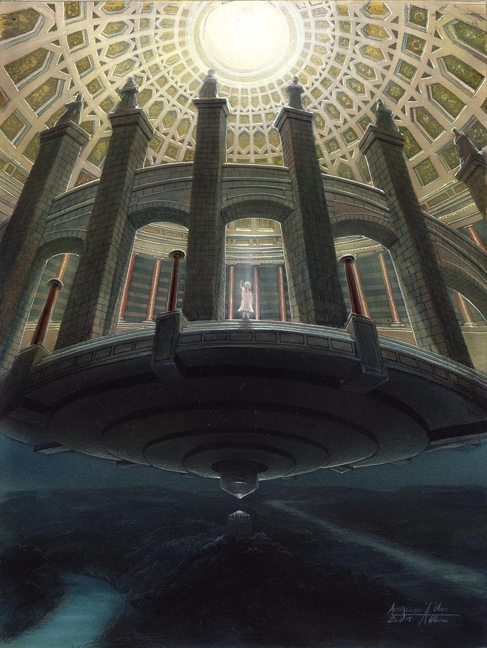 Die Befreiungshalle als Befreiungs Ufo
