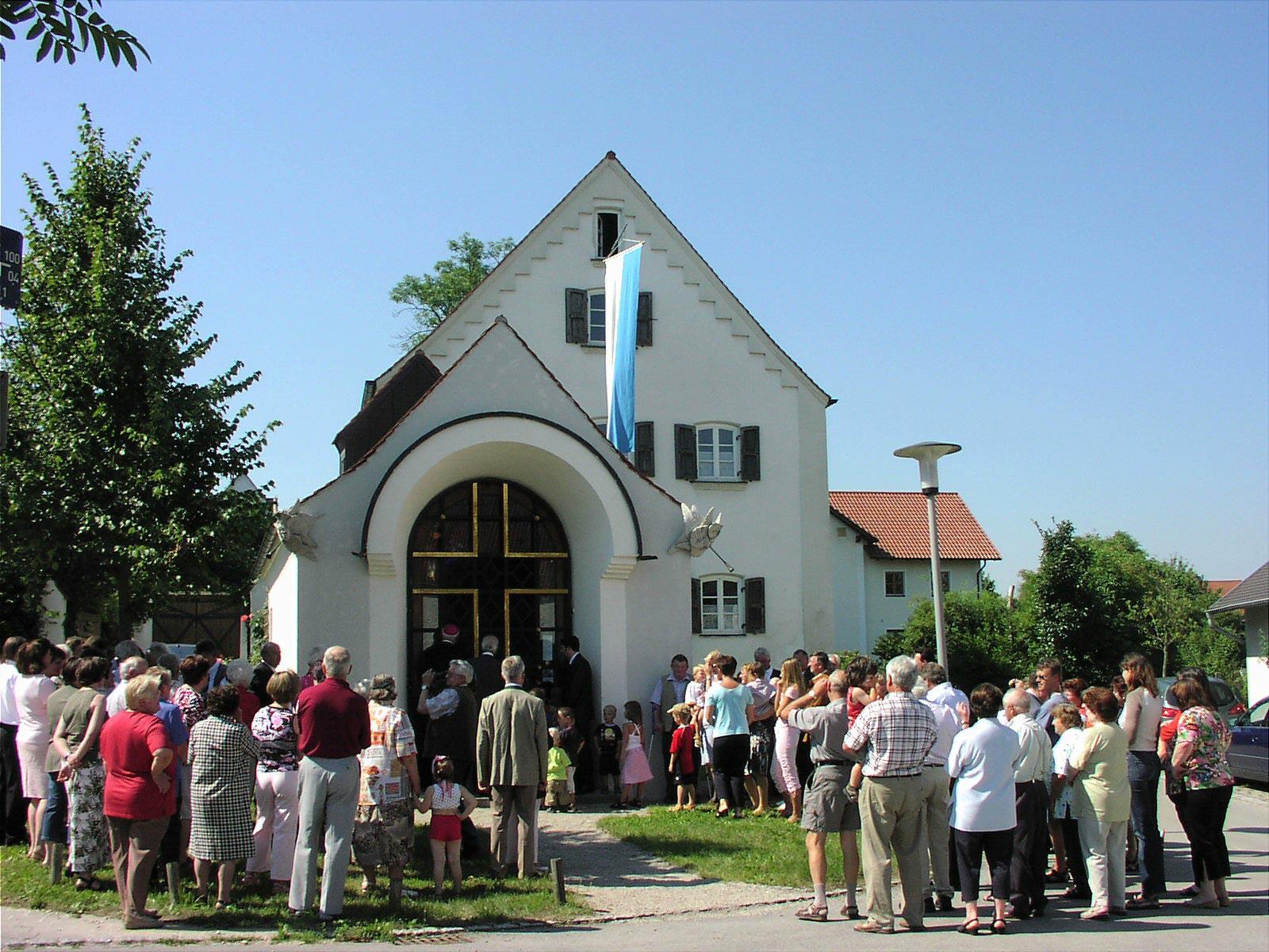 Bischof Gerhard Ludwig Müller besucht die Erlöserkapelle