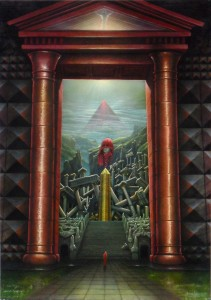 Das rote Tor