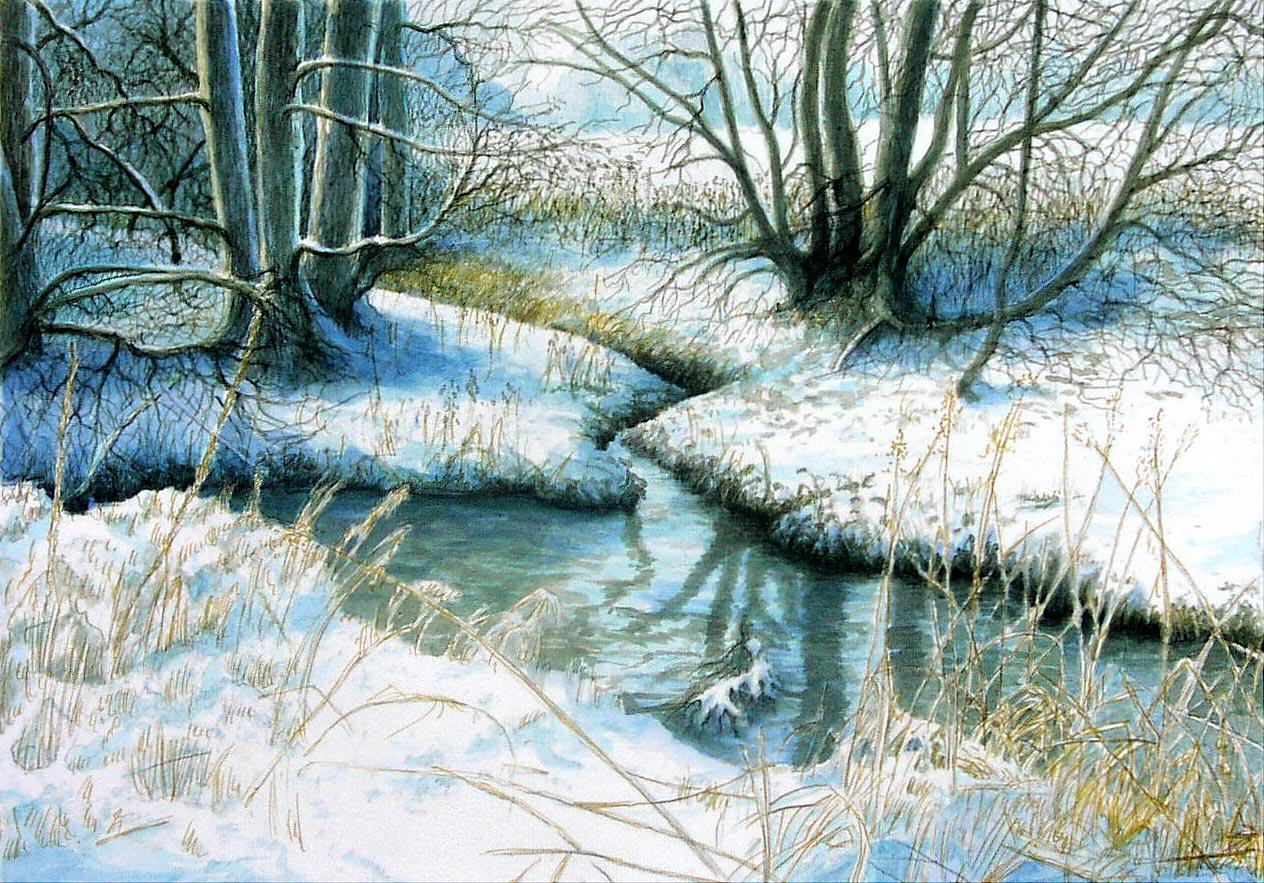 Die Abens im Winter