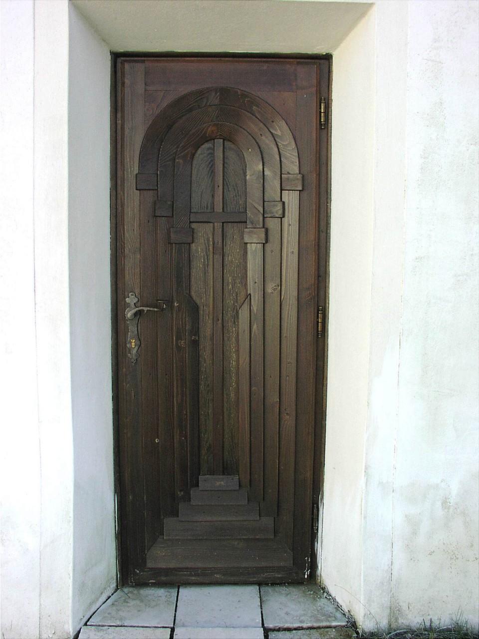 Seiteneingang an der Erlöserkapelle