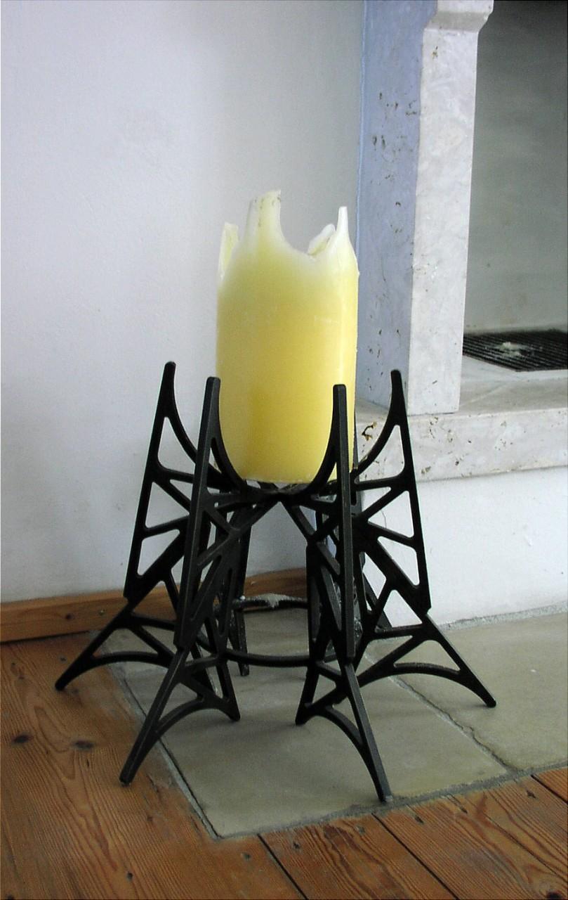 Kerzenständer aus einem variablen Modul