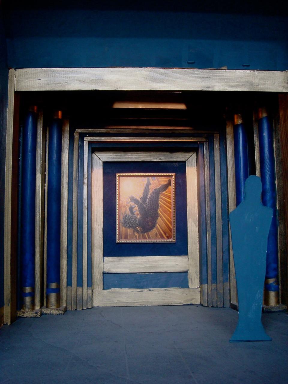 Modell Museum der Phantastik Konche