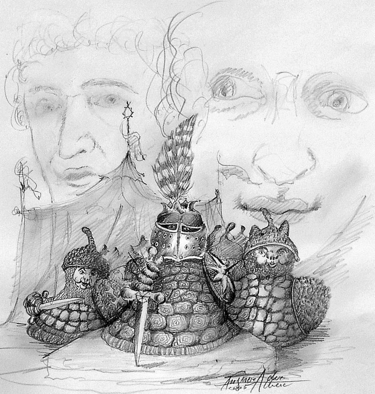 """König Winzels Rüstung Märchenbuch """"Janus und Sunaj"""""""