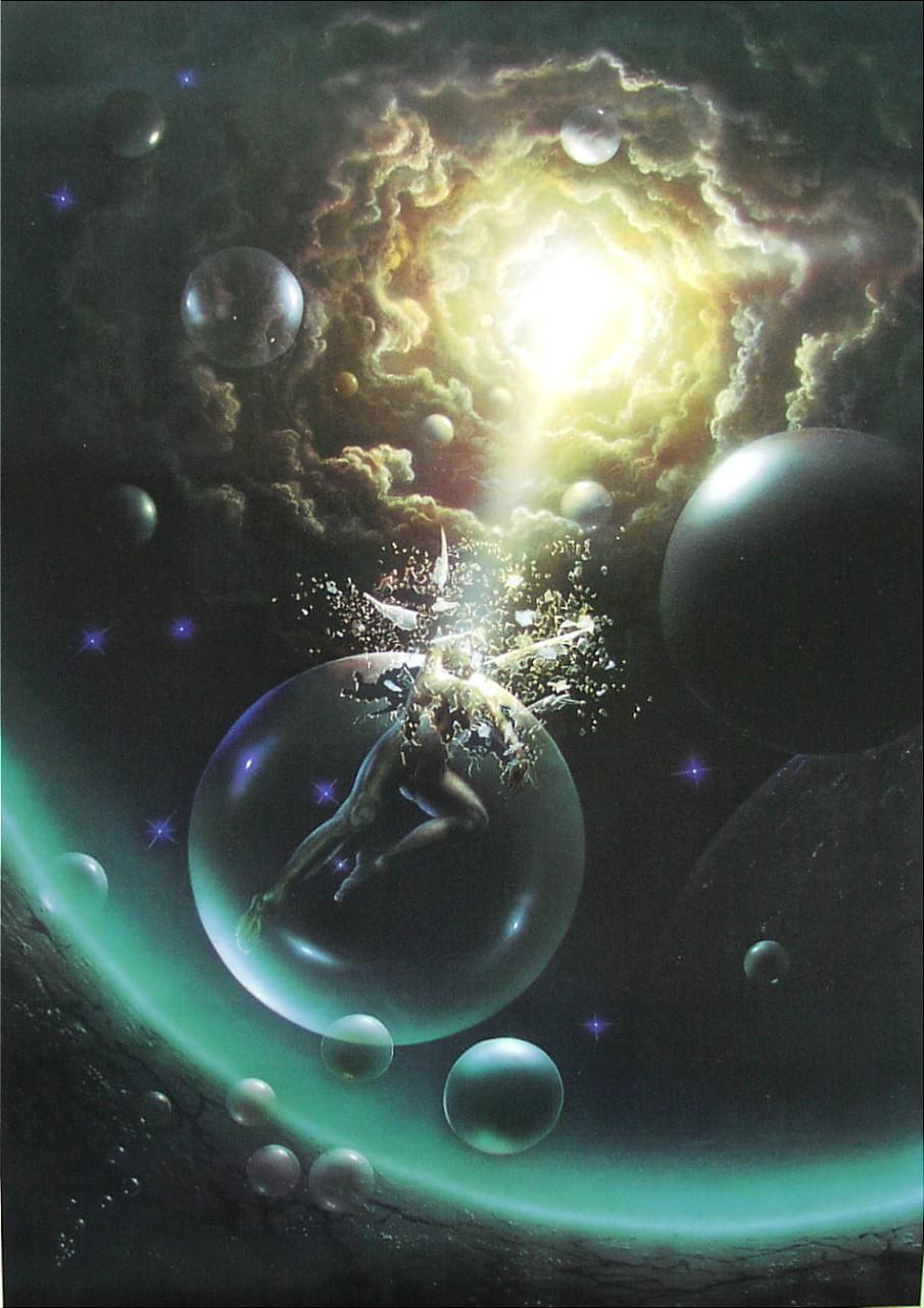 Ikarus IV - Kunstdruck - Poster