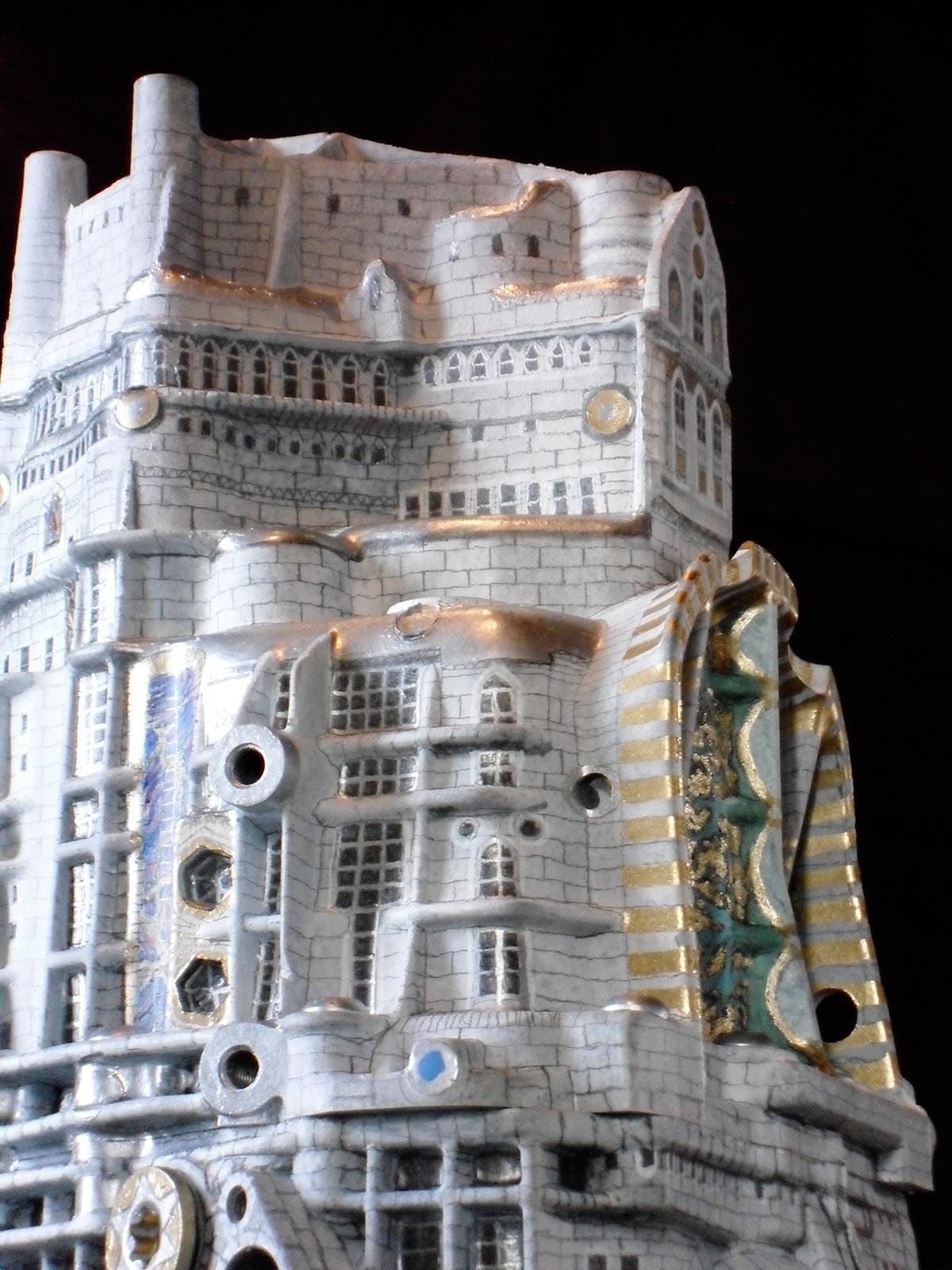 Audi Getriebe als phantastische Architektur, Detail