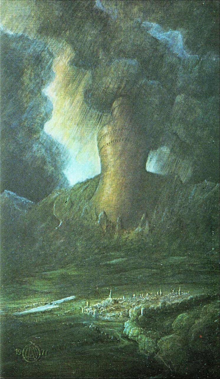 Babylonischer Turm am Hochstaufen bei Bad Reichenhall