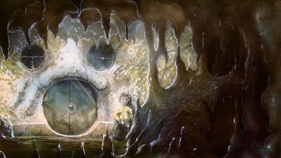 bühnenbild der kleine hobbit von j.r.r.tolkien