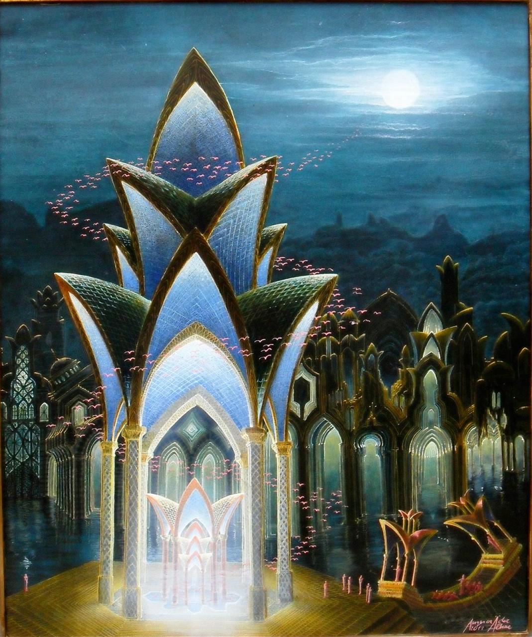 Der geheime Tempel - Auftragskunst