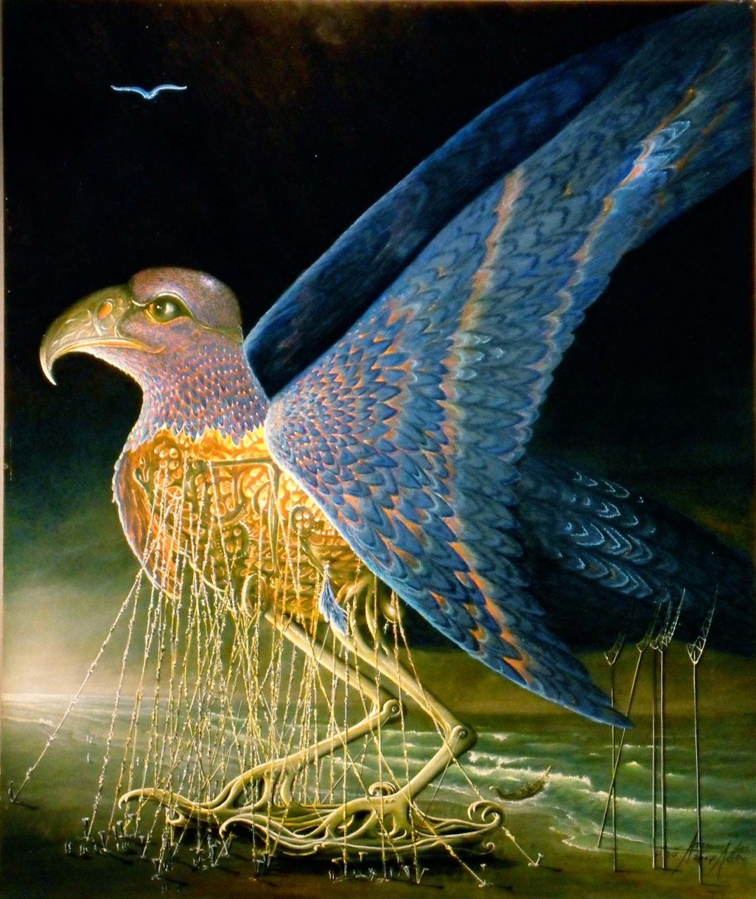 """Die Vogelmaschine - Märchenroman """"Janus und Sunaj-Gefährliche Träume"""""""