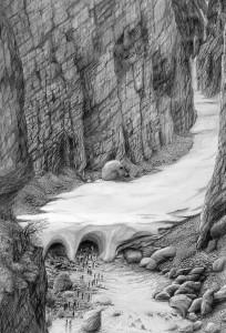 der geheimnisvolle eingang in den untersberg