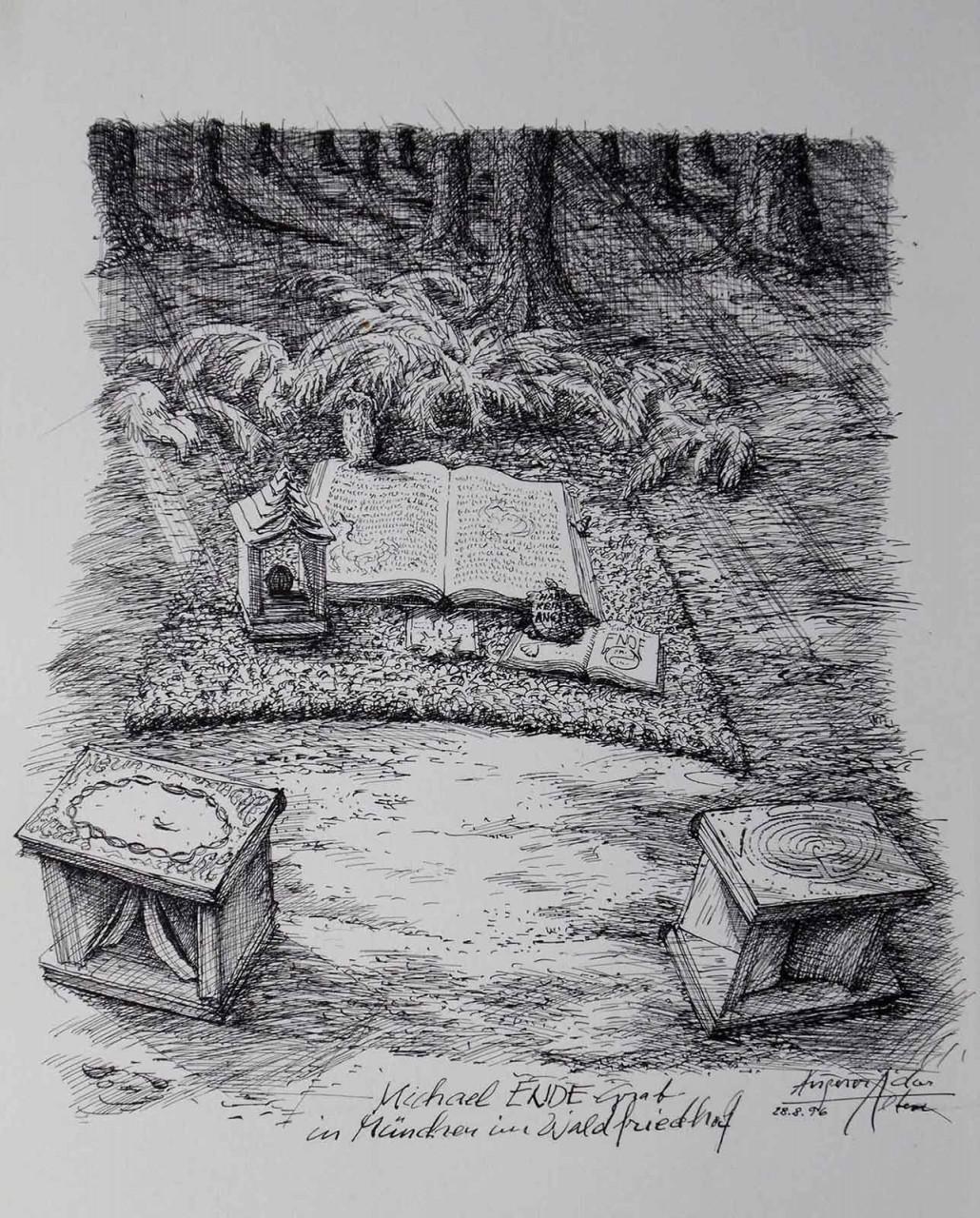 Grab von Michael Ende
