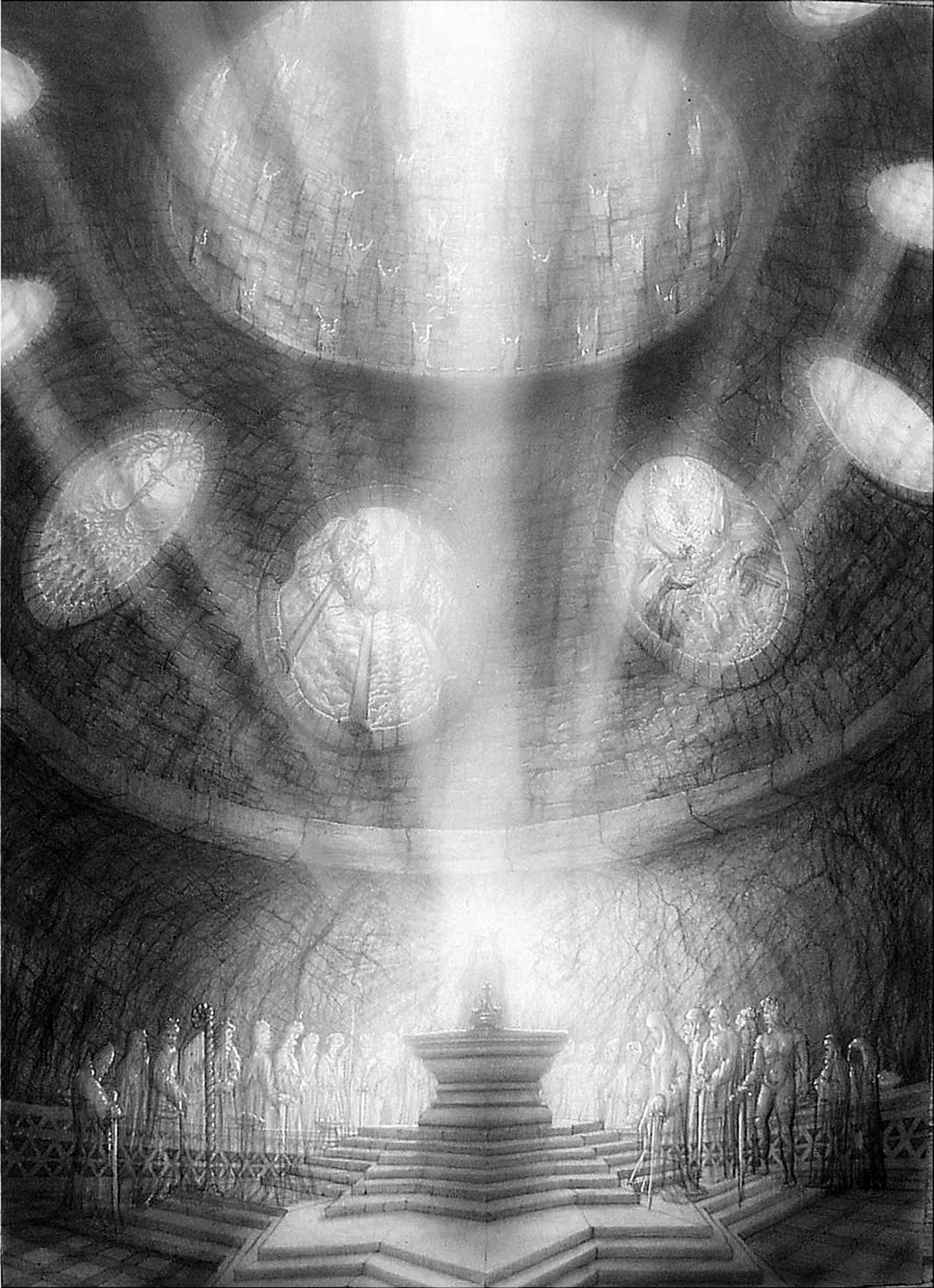 der geheimnisvolle gralsraum im untersberg