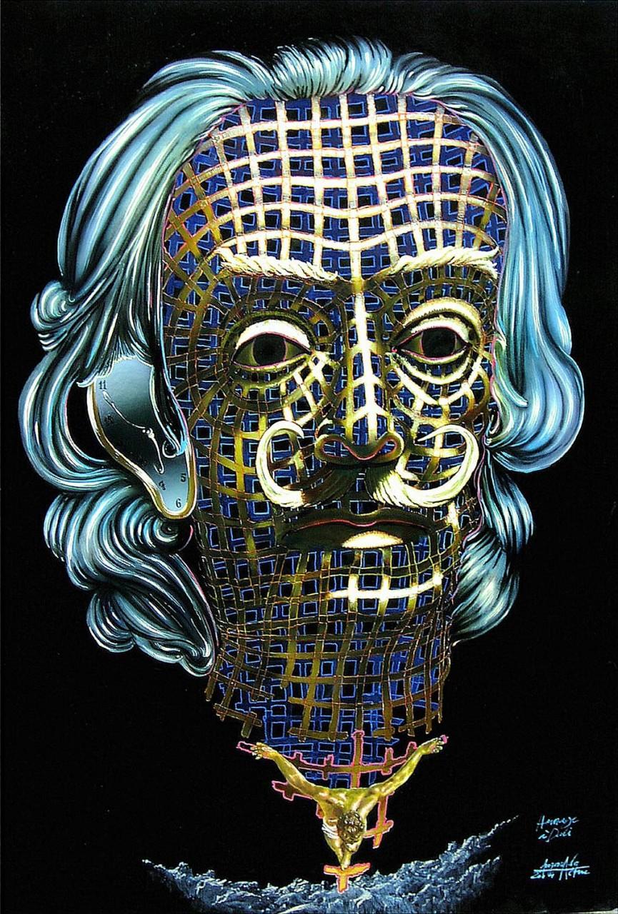 Hommâge an Salvador Dali - Ikone Salvador Dali