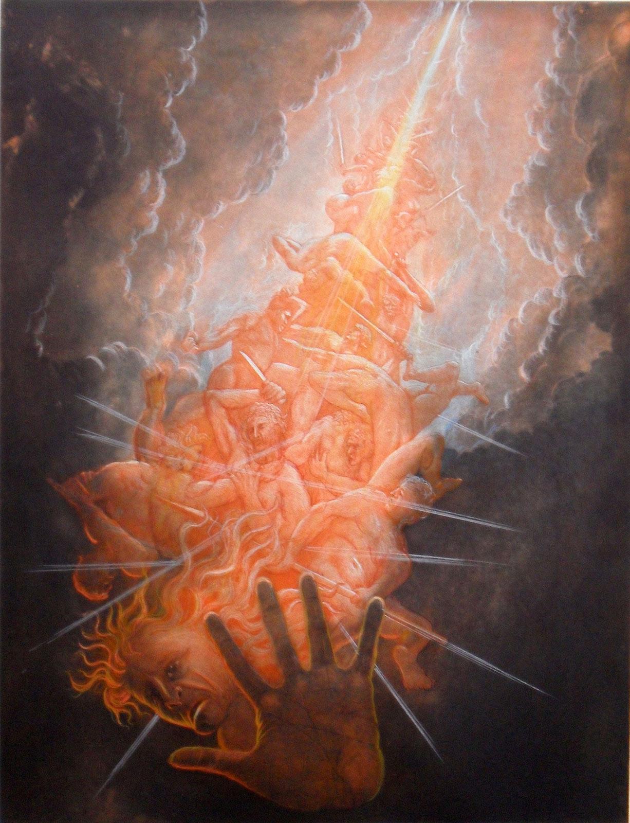 der ewige kampf in der geschichte der menschheit