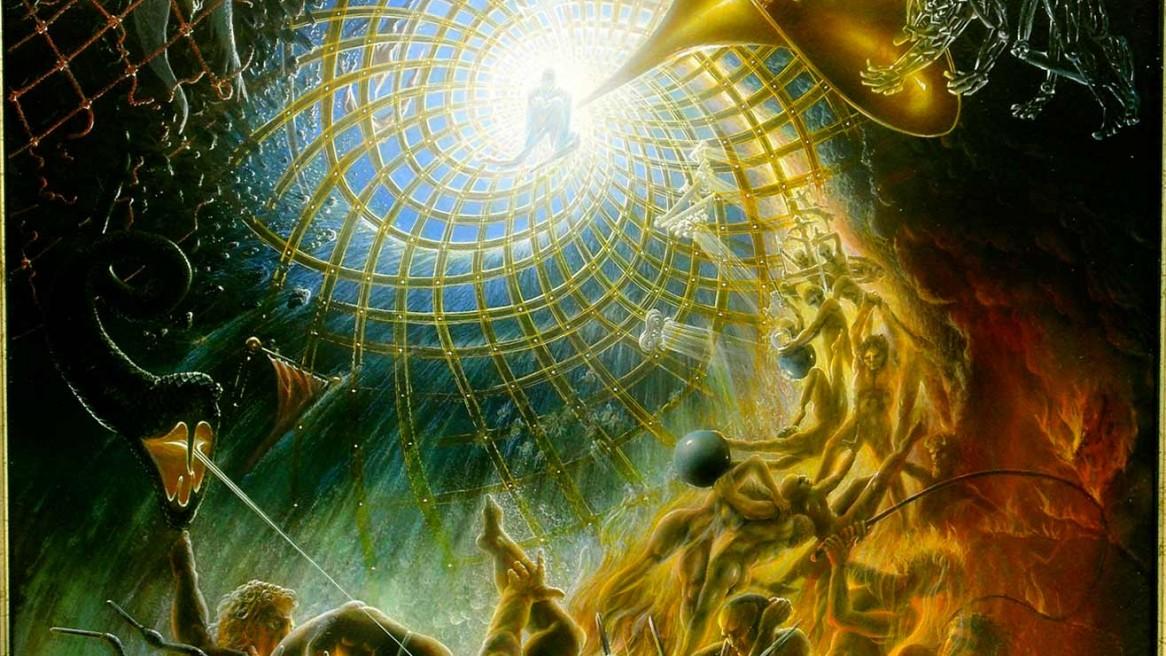 apokalypse nach dem text in der bibel