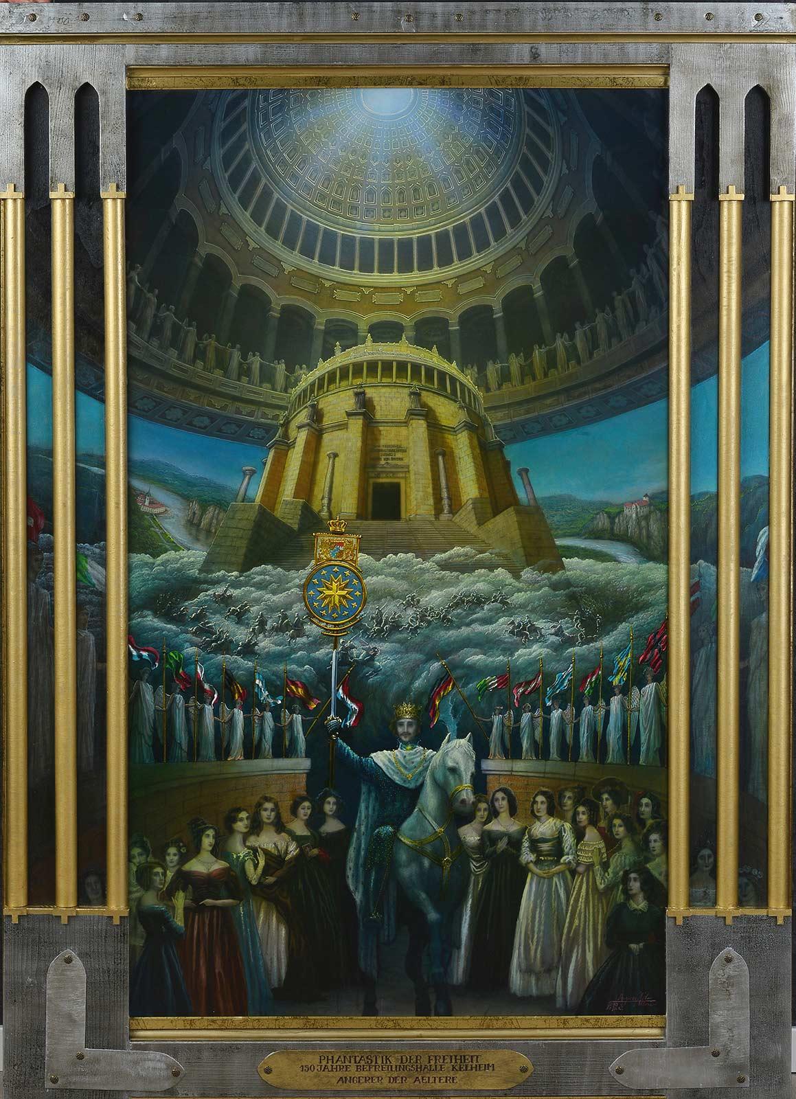 phantastik der freiheit und die befreiungshalle