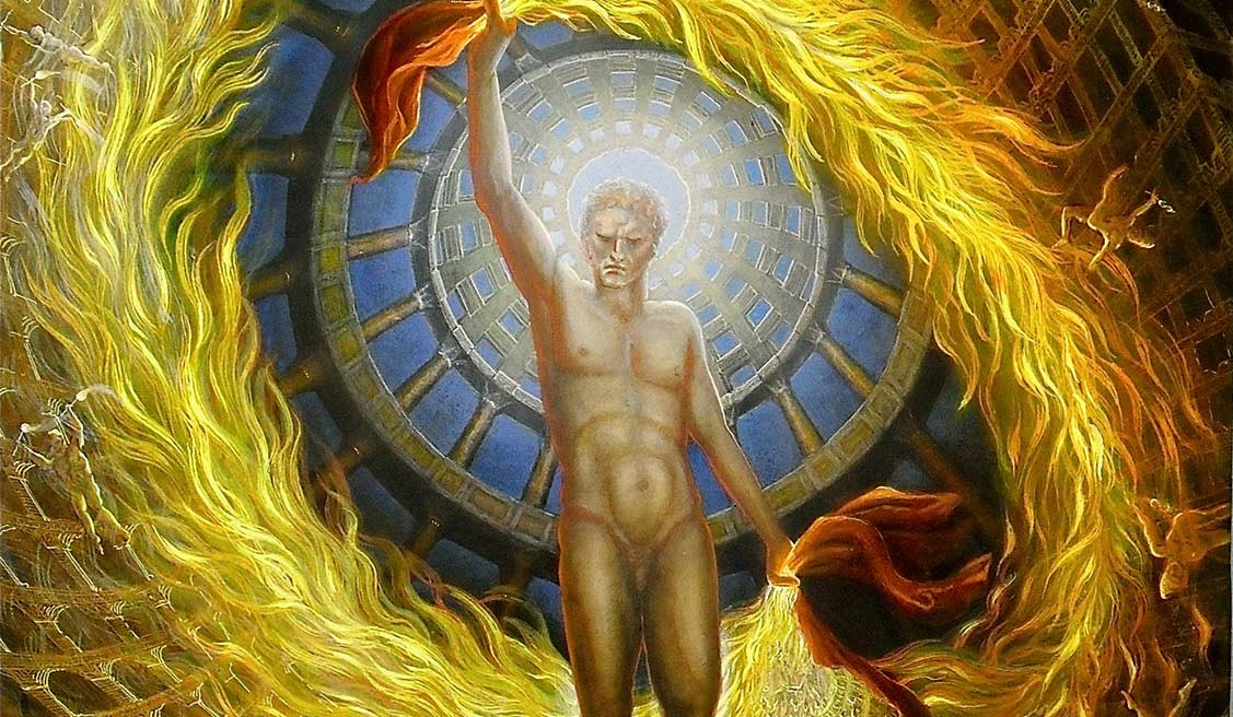 Der Prometheus als Feuerbringer