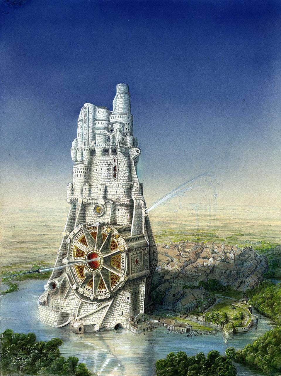 Turm zu Abensberg - Auftragskunst
