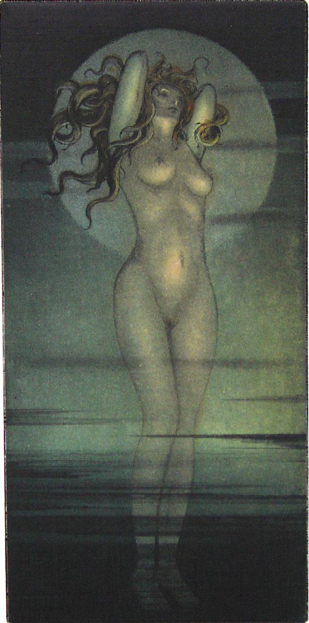 Venus, Farbradierung - verkäuflich