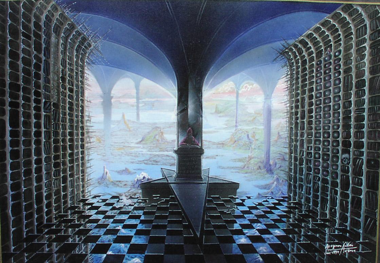 Entwurf für KRABAT nach Otfried Preußler - Der Zauberer