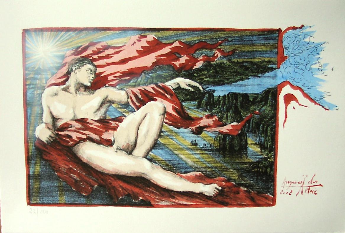 Adam nach Michelangelo - verkäuflich
