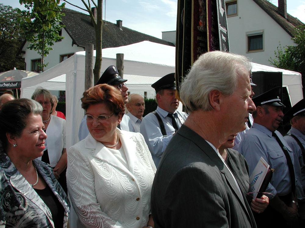 Einweihung Erlöserkapelle mit Landtagspräsidentin Barbara Stamm