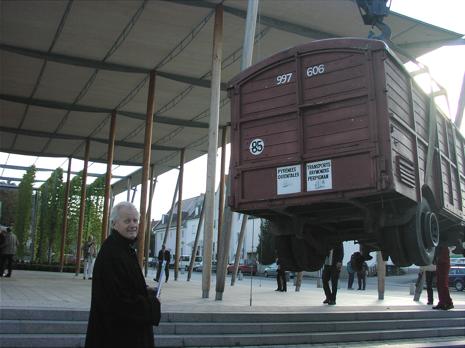 Dalis Original Railroad Art Car Leaves Perpignan U2013 European Art