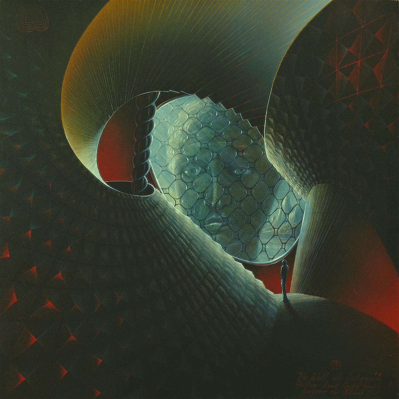 Die Welt als Labyrinth I - Gustav René Hocke gewidmet