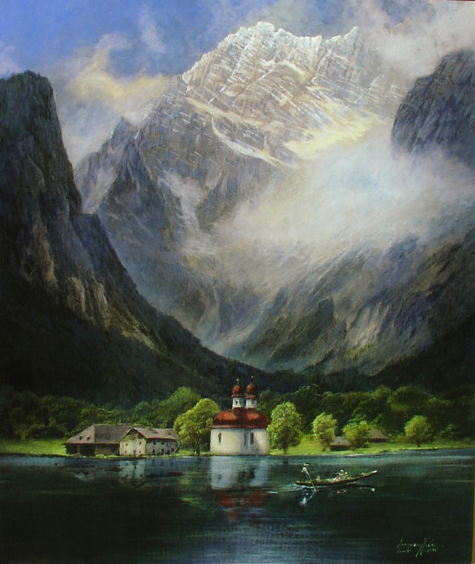 Watzmann Ostwand - Auftragskunst