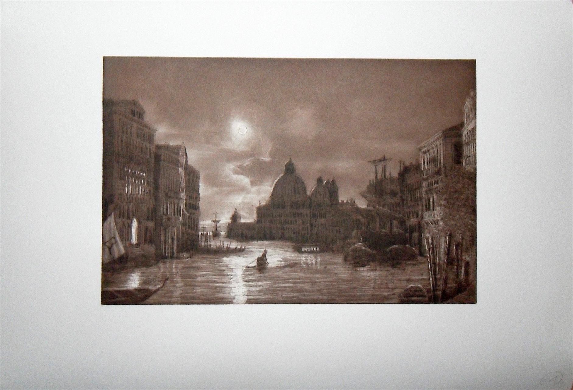 Huckleberry Friends-Venedig bei Nacht-Auflage im Auftrag