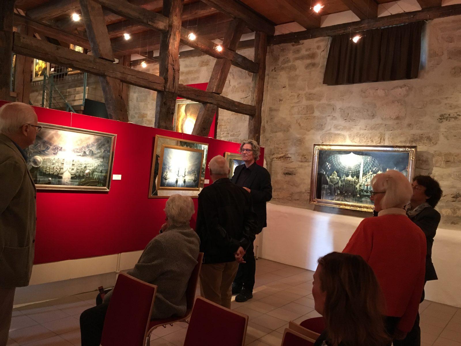Retrospektive Angerer der Ältere mit Kunsthistoriker Dr. Bernhard Stumpfhaus