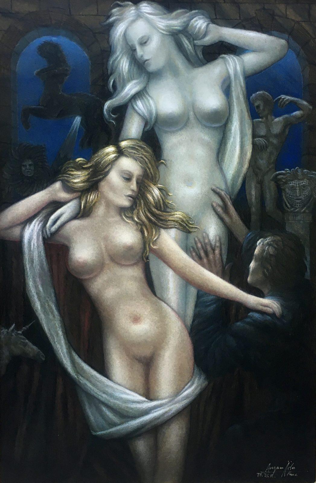 Pygmalion und Galatea