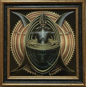 Die Welt als Labyrinth - Giclée hochwertig gerahmt