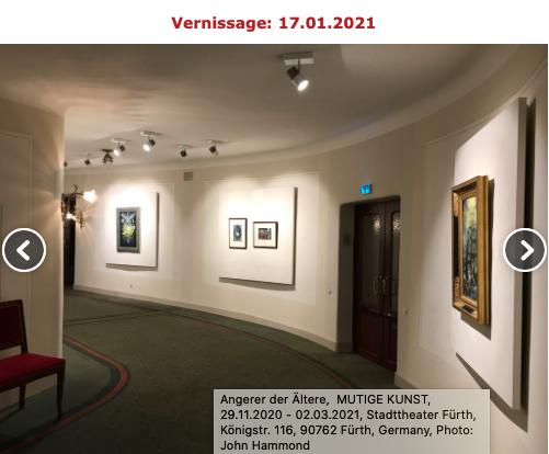 Mutige Kunst im Stadttheater Fürth